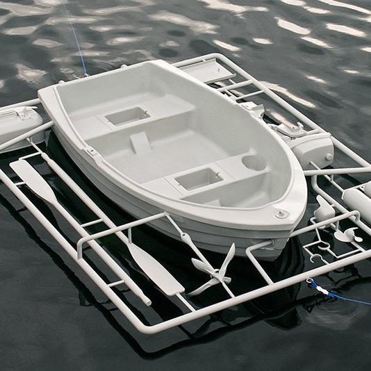 Playmo-Boot: Das Boot zum Selberbasteln