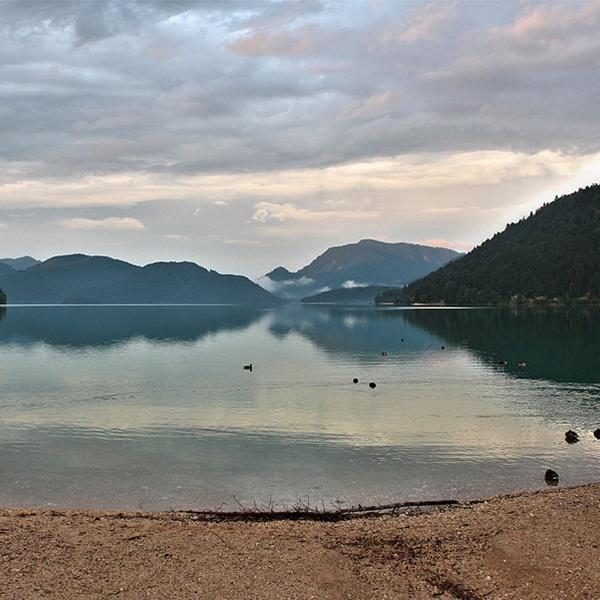 Walchensee ganz unspektakulär