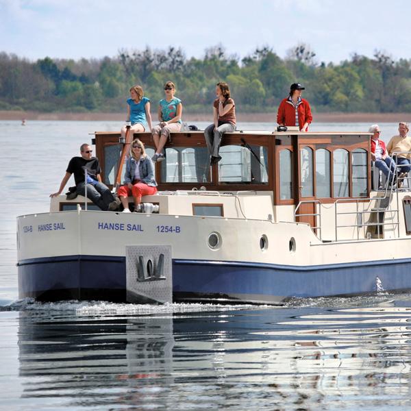 Mit dem Hausboot unterwegs