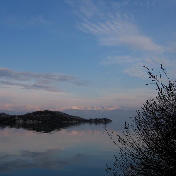 Irgendwo zwischen Himmel und Erde: Der Skutarisee in Montenegro