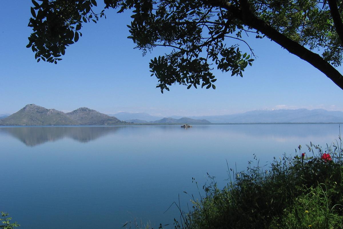Der Skuratisee in Montenegro