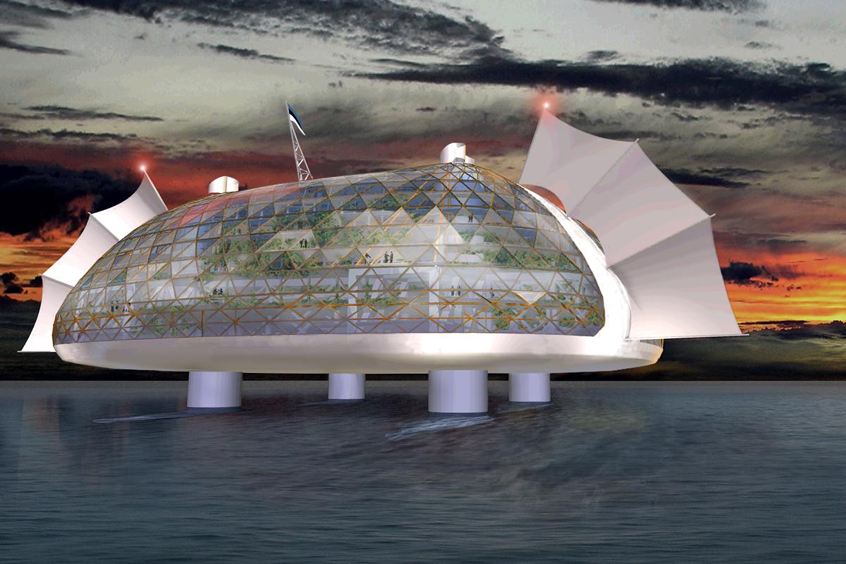Entwurf: Seasteading Institute/SESU