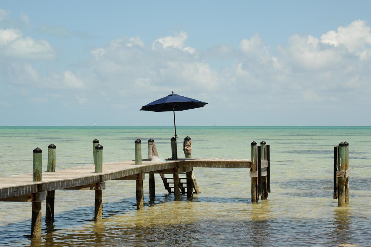 Steg an der Atlantik Küste, Florida