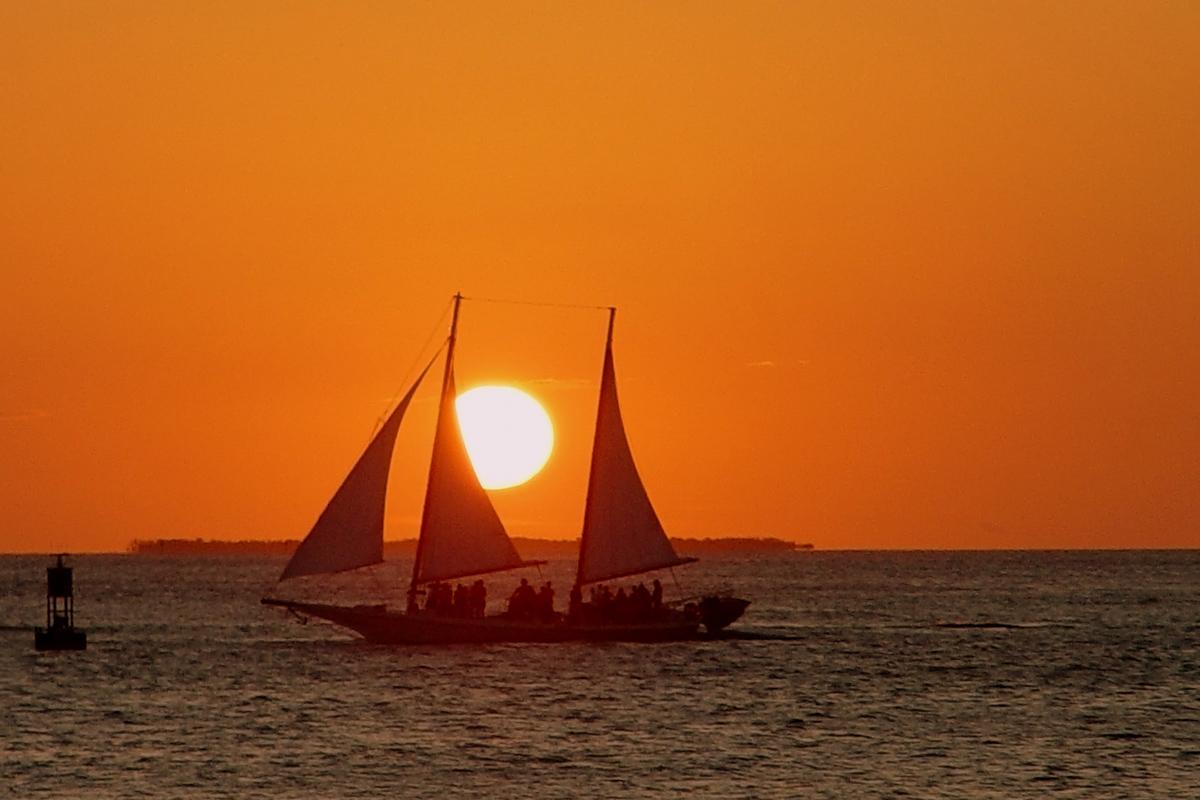 Sonnenuntergang in Florida Key West