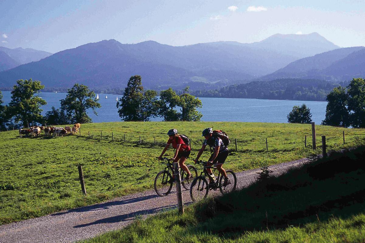 Radfahren am Tegernsee