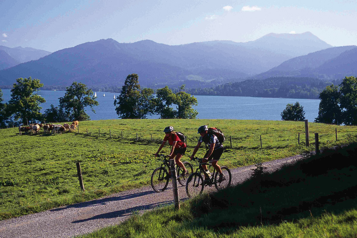 Fahrradtouren am See