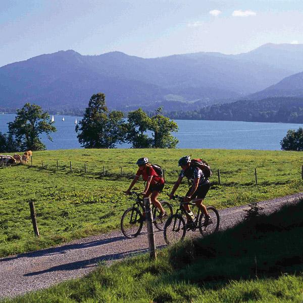 Die schönsten Fahrradtouren am See