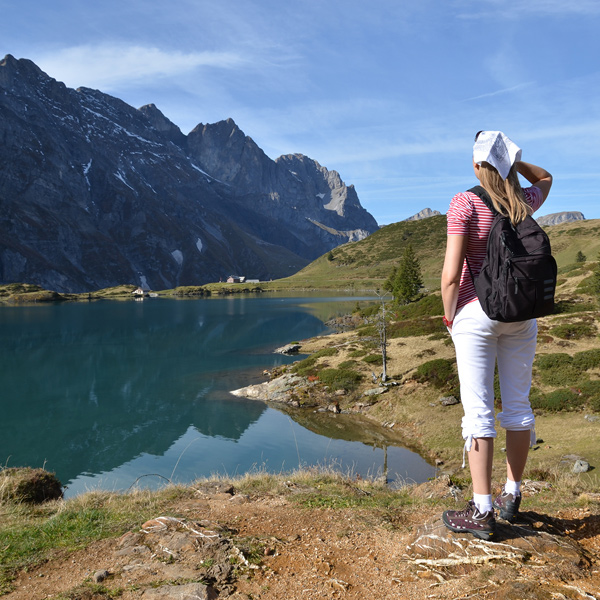Wandern am See