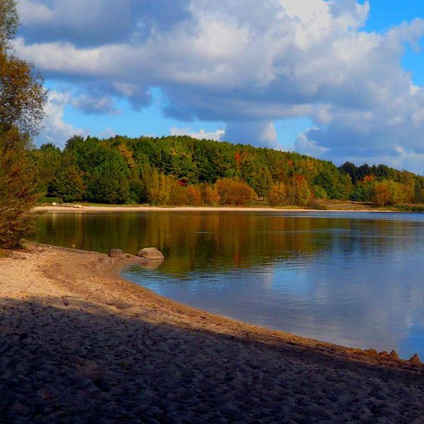 Der Senftenberger See