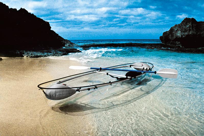 See Through Canoe - Das unsichtbare Kajak