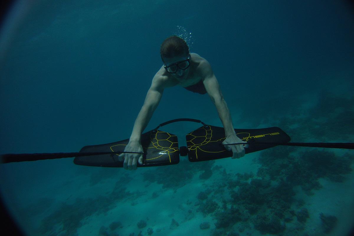 Subwing: Fliegen unter Wasser