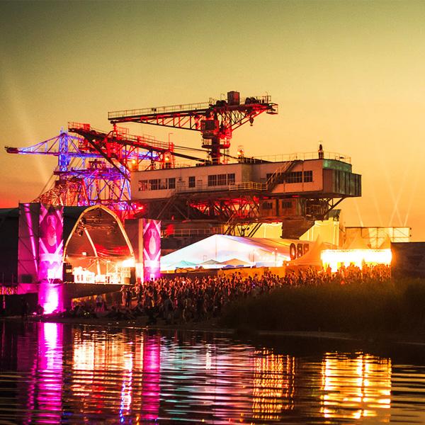 Melt!-Festival: Elektro in der Stadt aus Eisen