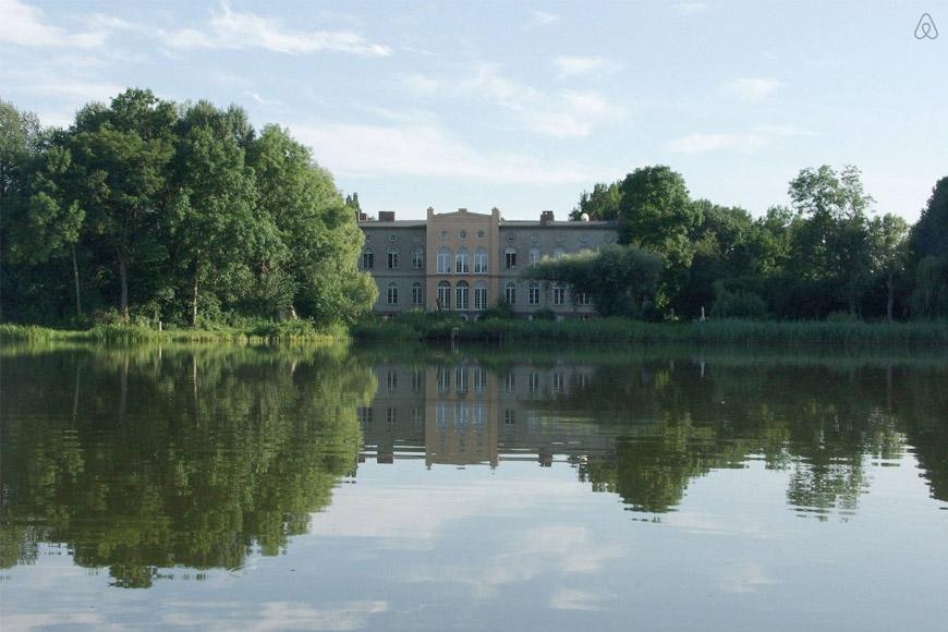 Gutshaus am Schönhausener See auf Airbnb
