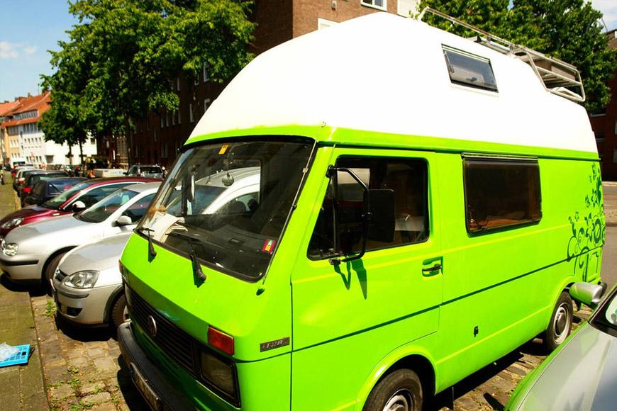VW Oldtimer Bus in Münster am Aasee Airbnb