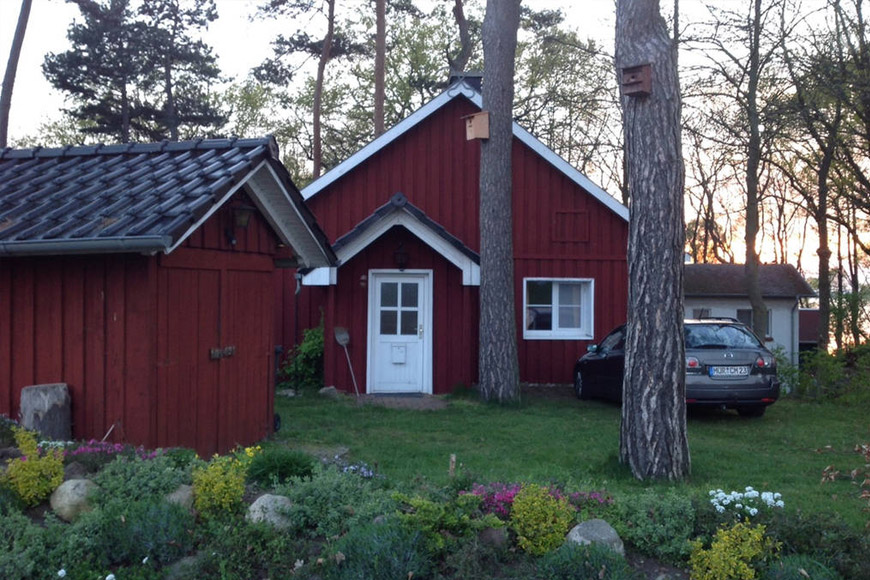 Schwedenhaus am Plauer See auf Airbnb