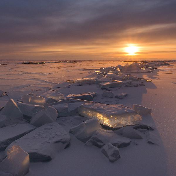 Eine Wüste aus Eis