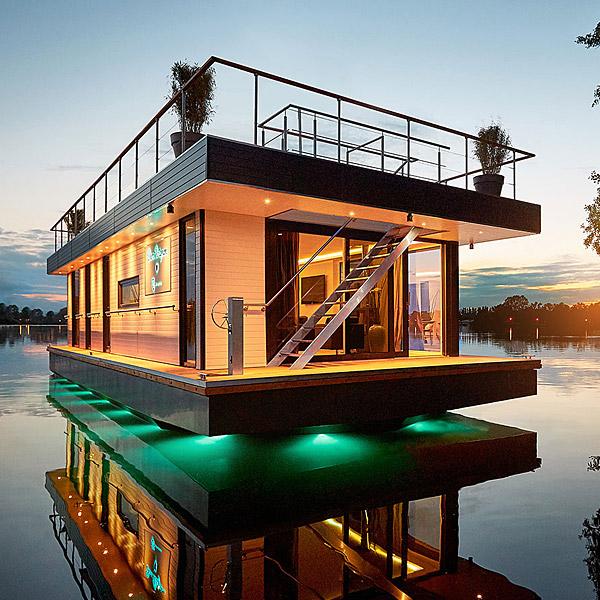 Schöner wohnen auf dem Wasser