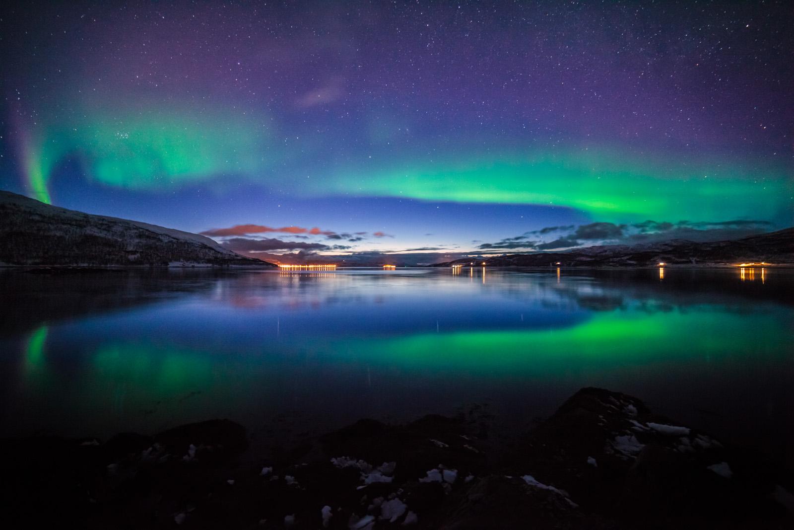 Foto des Monats: Polarlichter bei Tromso