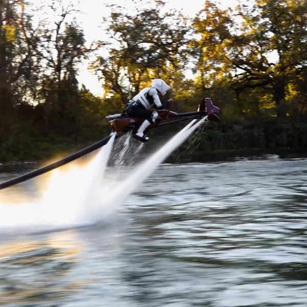 Star Wars Speeder Bike: Marke Eigenbau