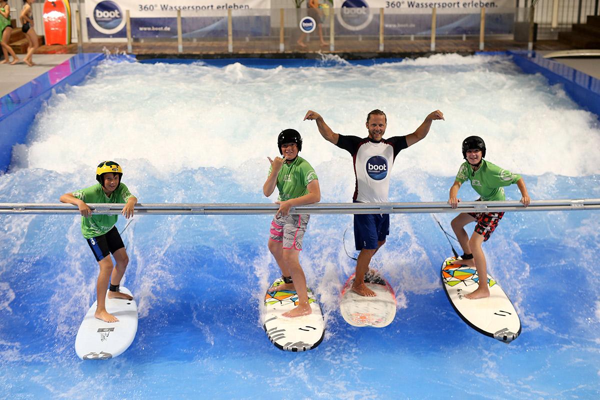 """""""The Wave"""" auf der Boot in Düsseldorf"""