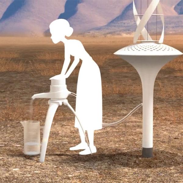 WaterSeer: Wasser aus der Luft